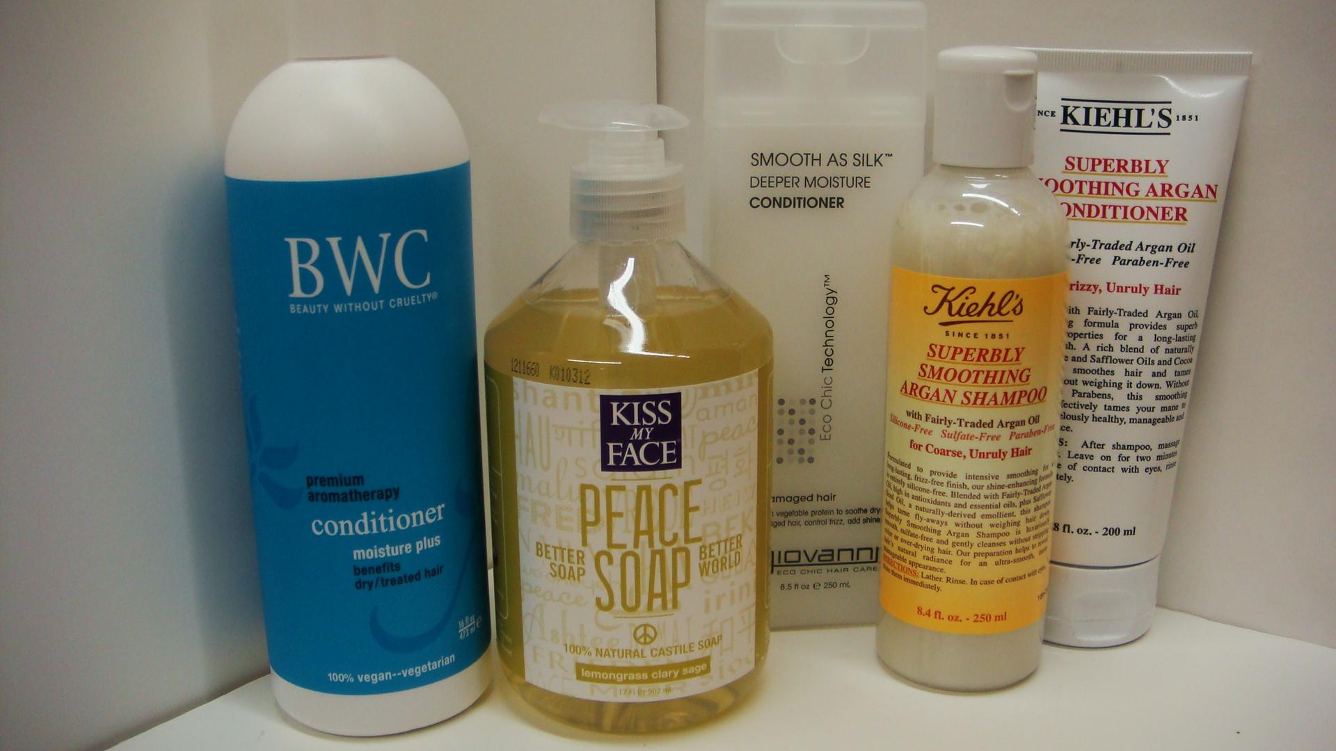 Кастильское мыло для волос