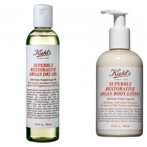 kiehls dry oil and lotion